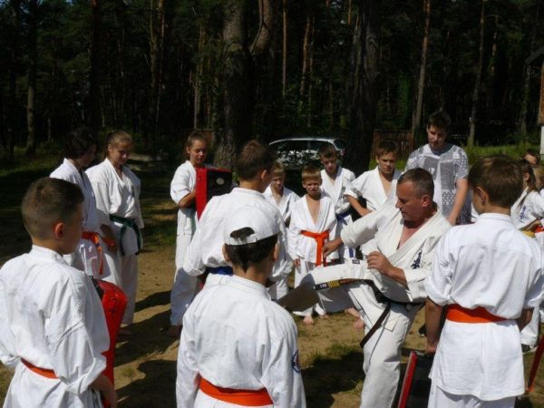 Wakacje z Karate Mazowiecko-Podlaski Klub Karate